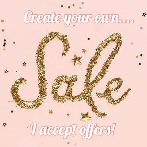 Create your own sale day💗